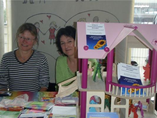 2010-Stand beim Tag der Selbsthilfegruppen