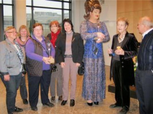 2010-Verleihung des Rosa Detlef an die Elterngruppe