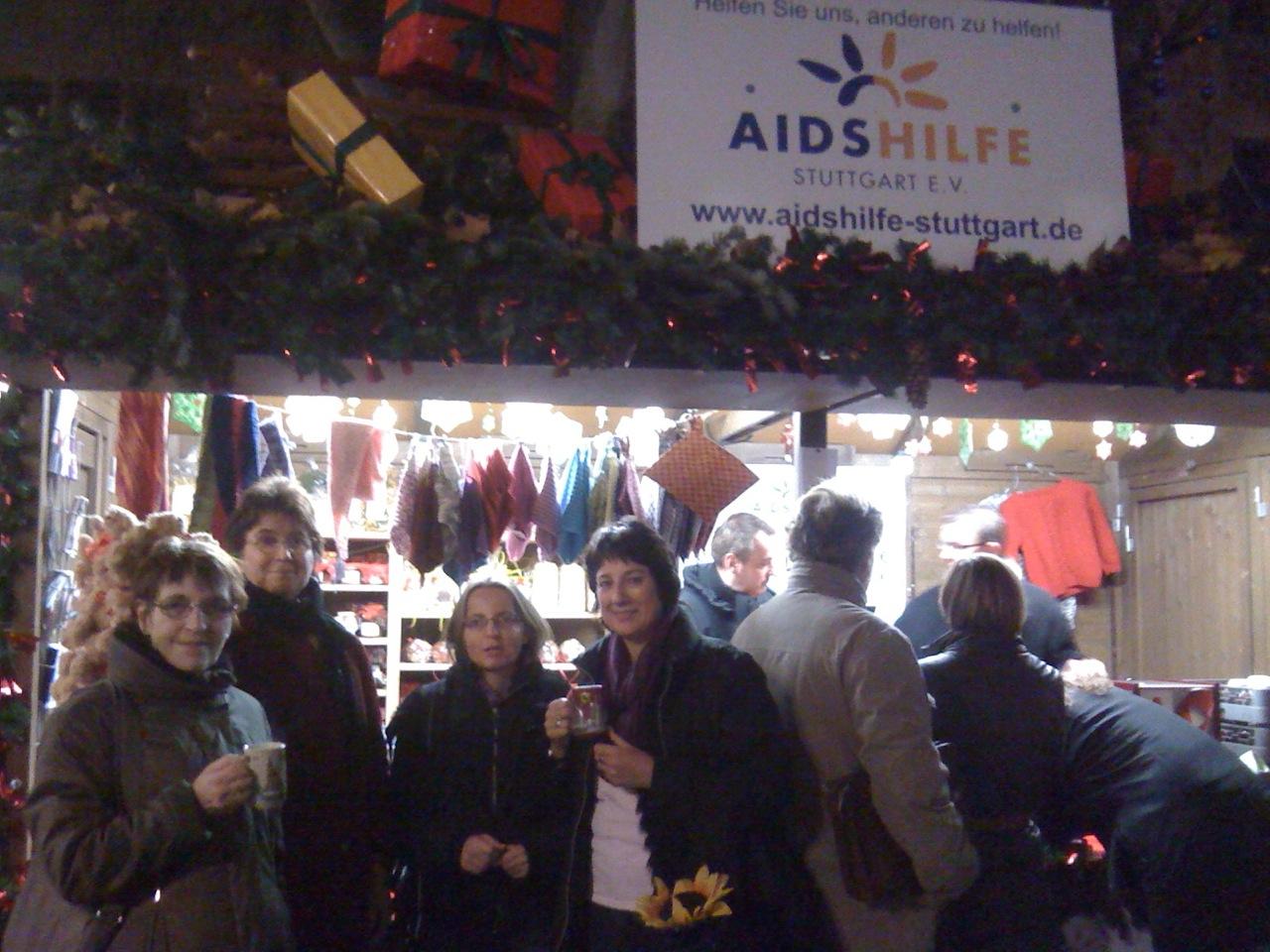 2011-Abschluss auf dem Weihnachtsmarkt