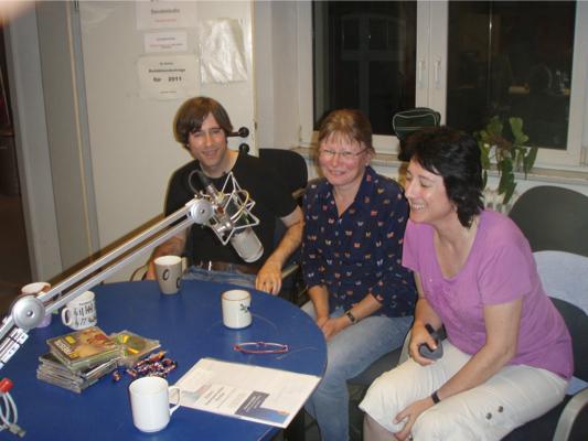 2011- Live beim FRS Interview mit Alex Regine und Loni