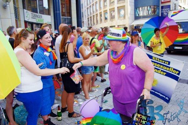 2013- CSD Parade bei brütender Hitze