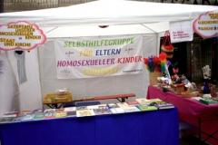2008- Stand an der Aidshocketse