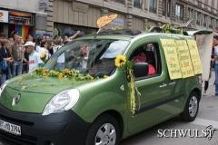 2011- Claudia überrascht uns mit Paradefahrzeug