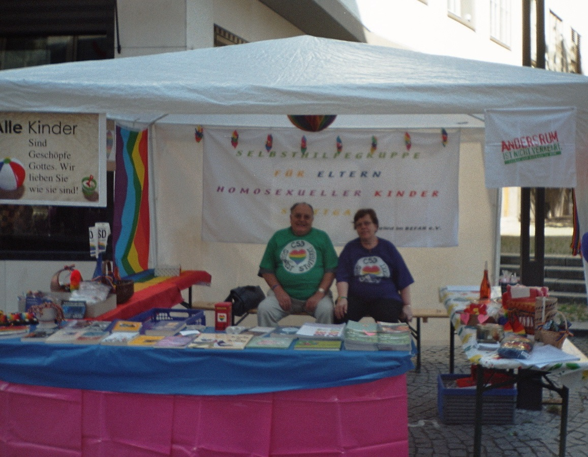 2005-Aids-Hilfe-Hocketse, Stand Elterngruppe