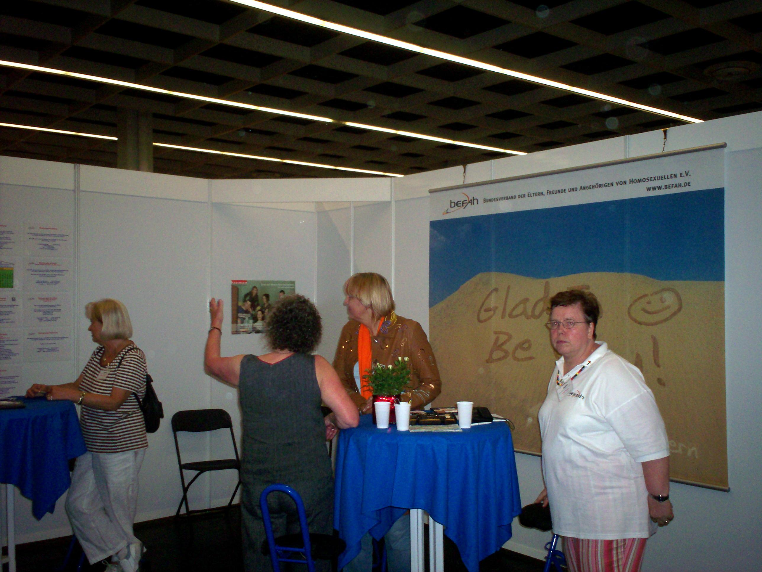 2007- Befahstand am Kirchentag Köln
